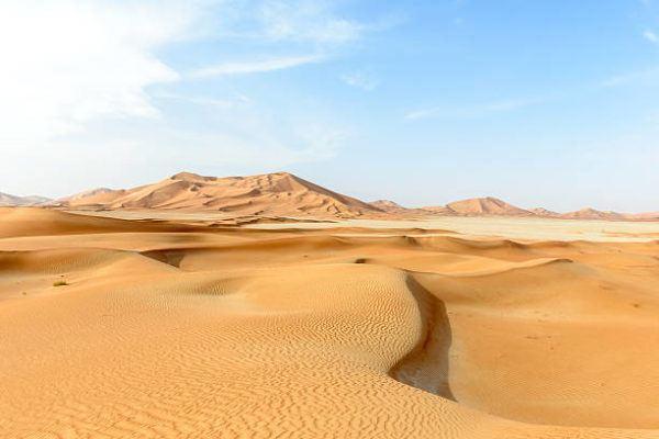 Los lugares mas calurosos del planeta Rub al Khali