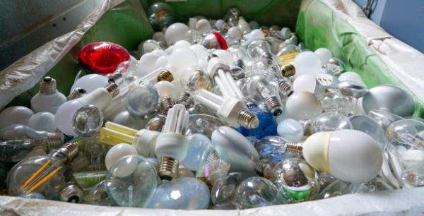 Como reciclar todos los tipos de bombillas halogenas