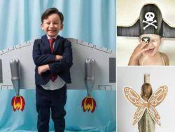 10 disfraces de Halloween hechos de cartón