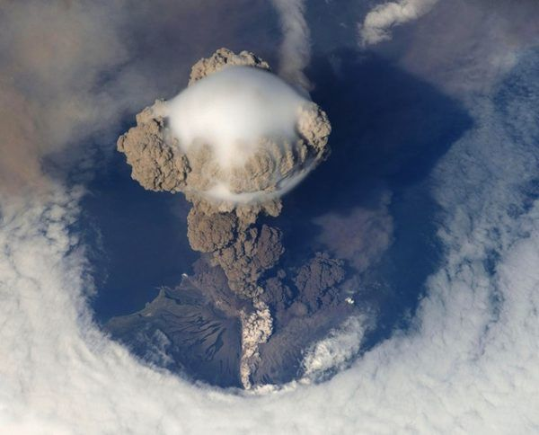 Cómo contribuyen los volcanes al cambio climático efecto invernadero