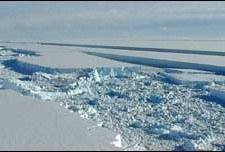 Se desprende bloque de hielo antártico de 500 kilómetros cuadrados