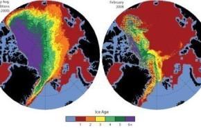 El 70% del hielo del Ártico podría perderse el próximo verano