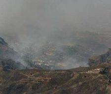 """El fuego de Gran Canaria está oficialmente """"controlado"""""""