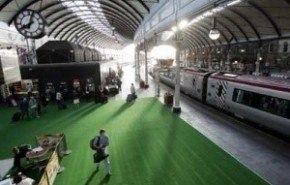 Los trenes quieren ser los más verdes