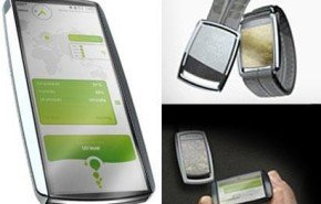 Pronto llegará el concepto de teléfono móvil ecológico